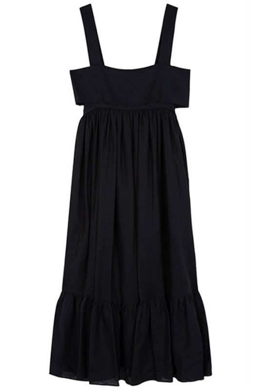 Chloe¦ü-Linen-Midi-Dress-With-Bow-Detailing