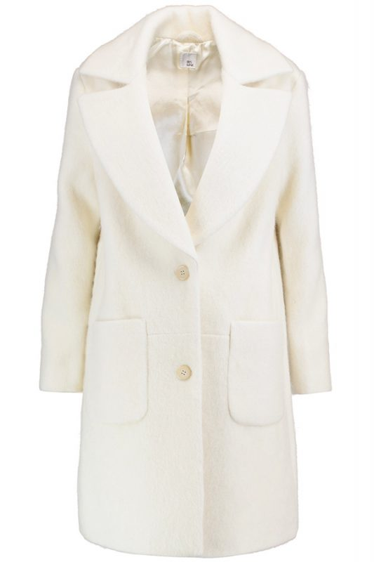 Iris and Ink cream coat