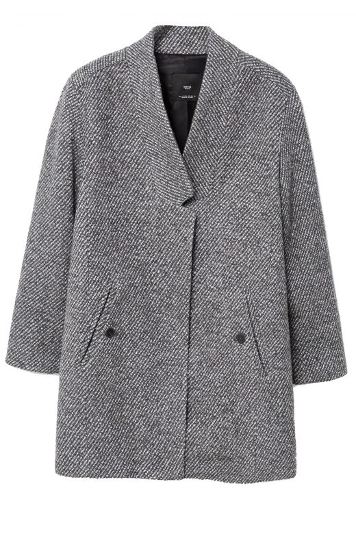 Click to Buy Mango-Herringbone-Coat