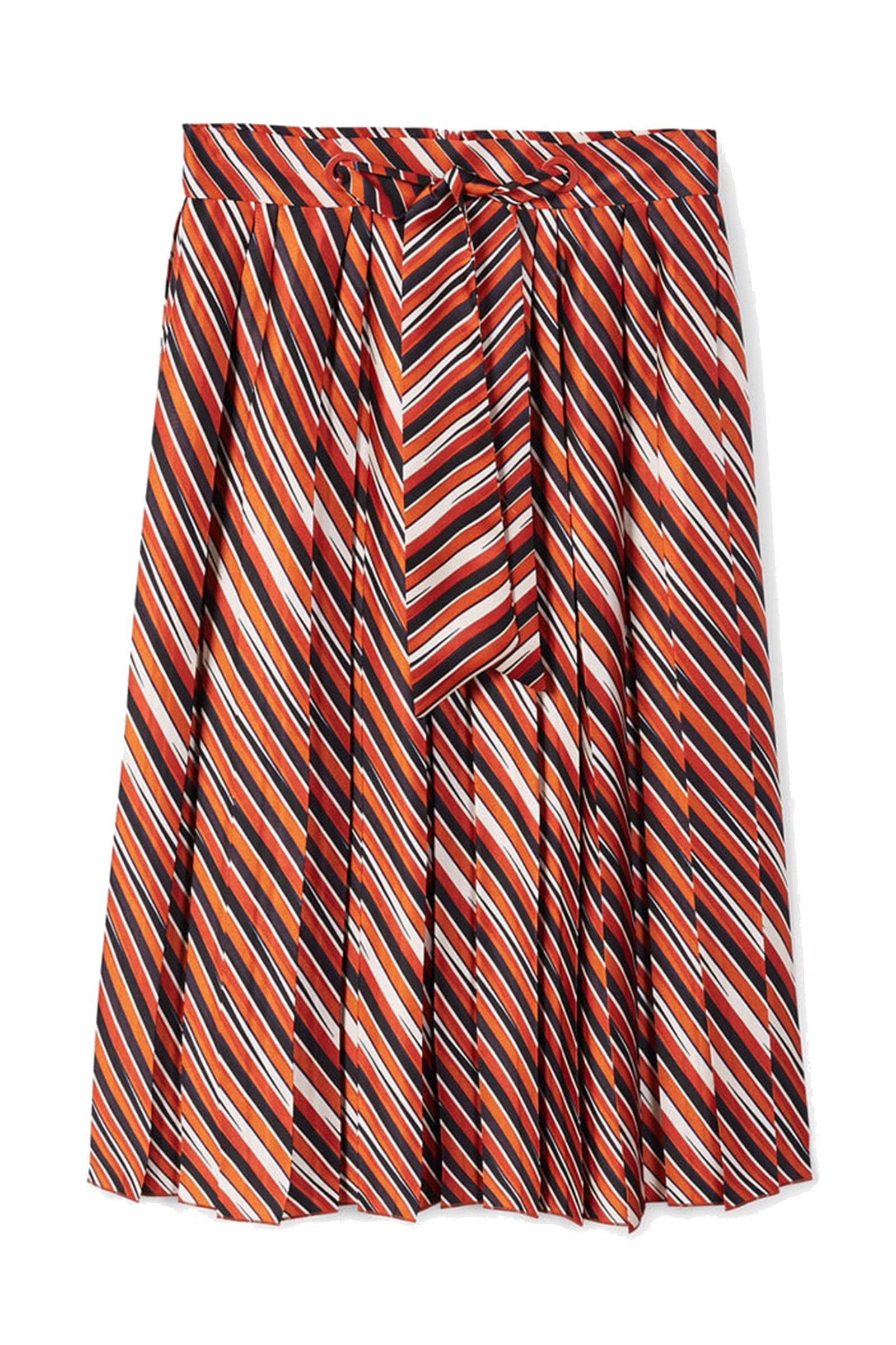 Click to Buy Mango Striped Skirt
