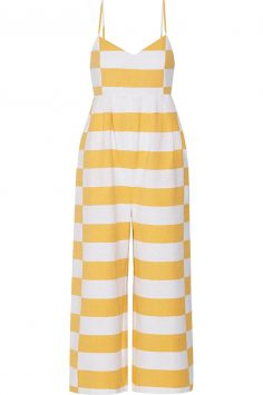 Click to buy Mara Hoffman Striped jumpsuit online