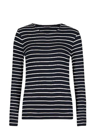 m and s striped top (1)