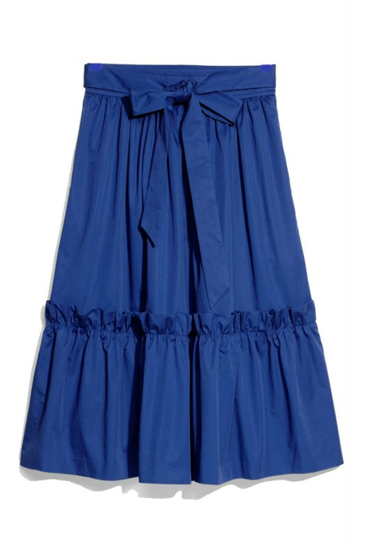 Click to buy Other Stories Blue A-Line Skirt Online
