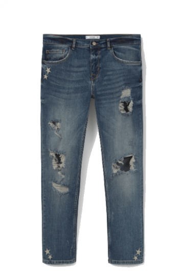mango jeans ripped