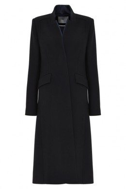 A-LINE-BY-JIGSAW-AW15-Rose-Crepe-Wool-Long-Coat-£650