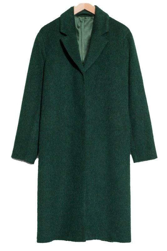 & Other Stories mohair coat