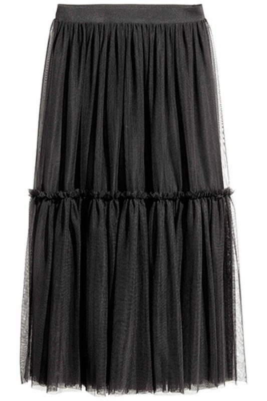 h-and-m-black-tulle-skirt