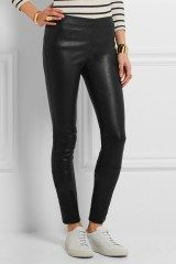 Joesph Stretch Leather Leggings1