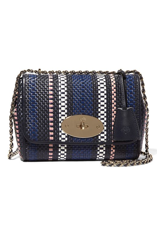 Mulberry Lily Small Woven Shoulder Bag £895
