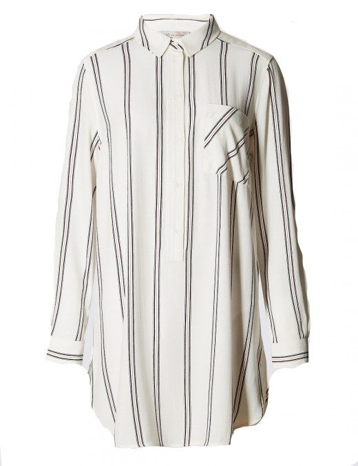 marks and spencer striped blouse 28