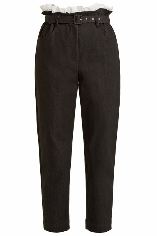 Click to buy Isa Arfen Belted trousers online