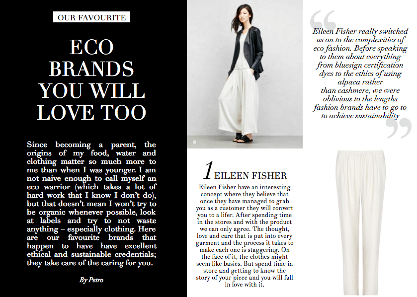 Issue 72 Eco Brands you will Love Page 1