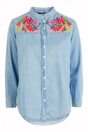 topshop embroidered shirt (1)