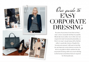 Corporate Dressing Made Easy