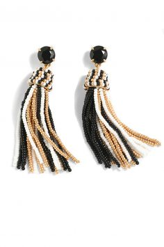 Click to buy J. Crew Fun tassel earrings