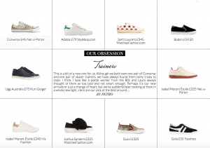 Our Obsession: Trainers