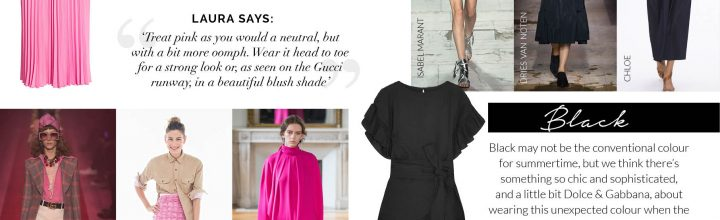 SS17 Trend Report: Pink and Black