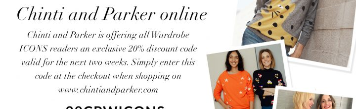 Chinti and Parker 20% Discount