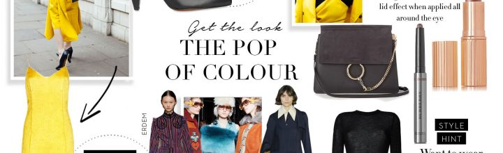 LFW Special – The Pop of Colour