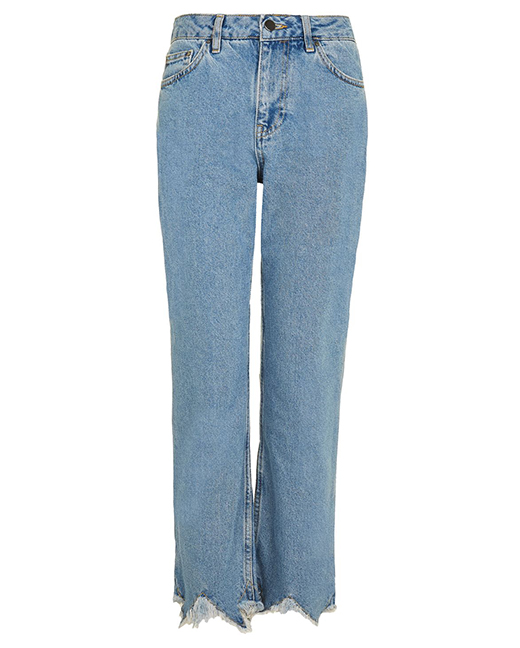 Topshop Straight Leg Jeans by Boutique