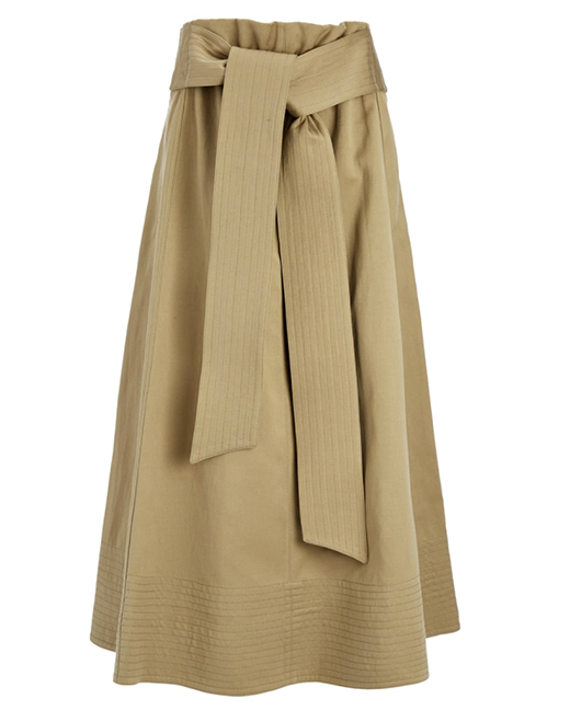 Joseph Utility Cotton Arka Skirt