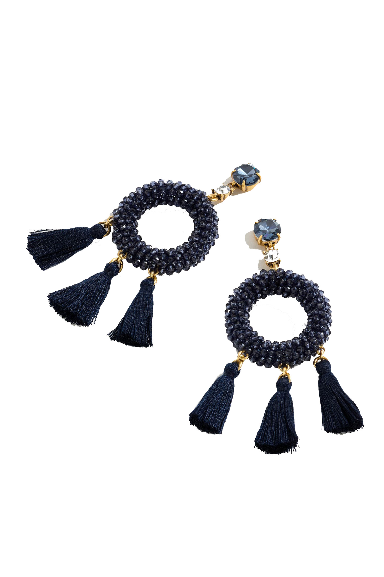 Click to Buy J.Crew-Stone-and-Tassel-Earrings