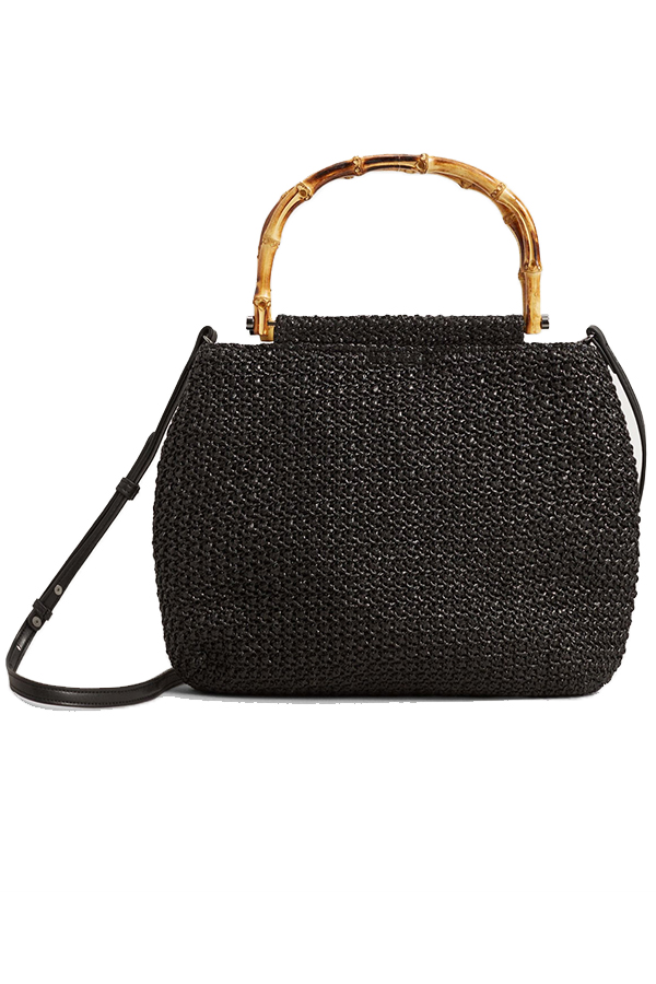 Click to buy Mango Bamboo handle bag online