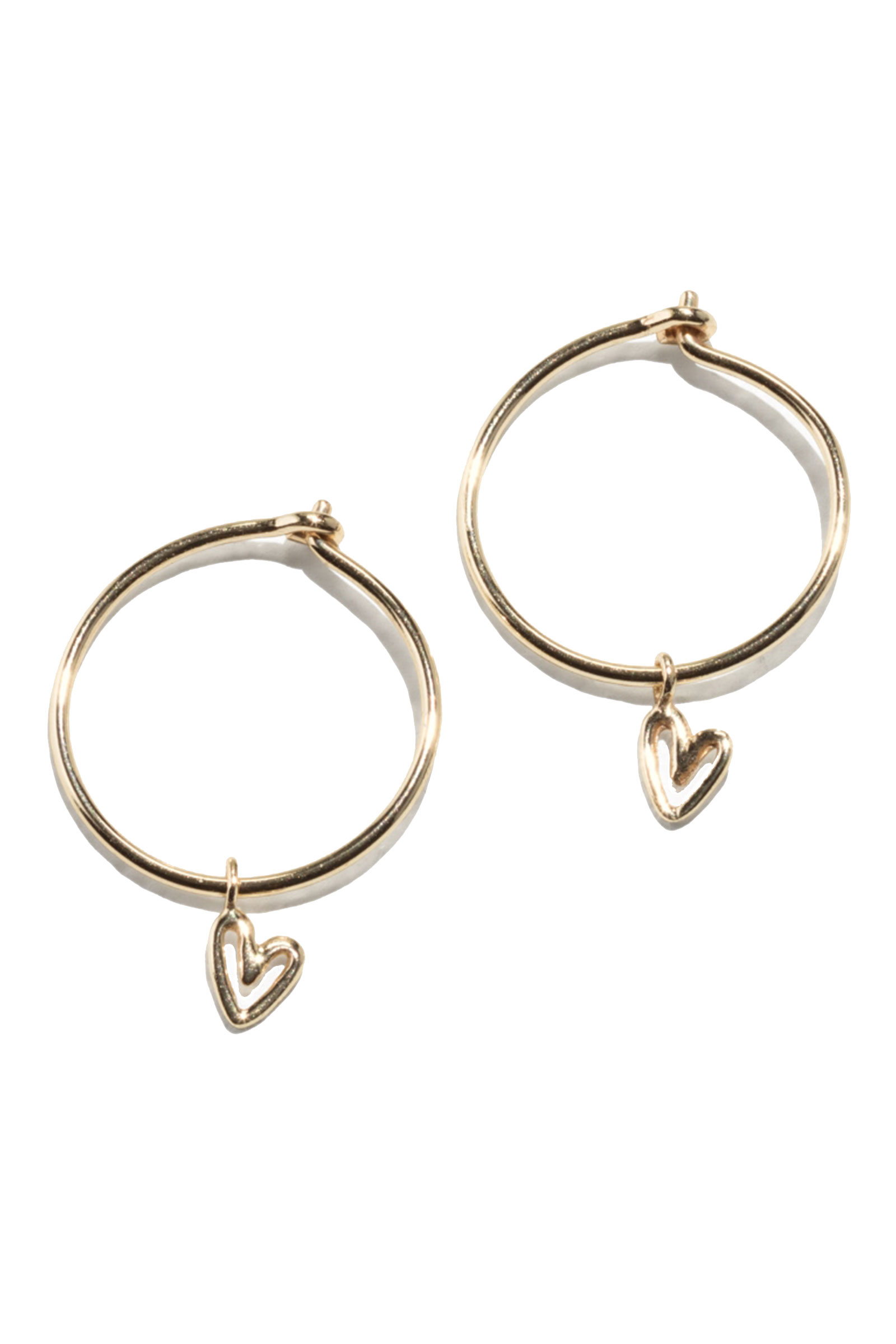 Click to Buy &-Other-Stories-Heart-Hoops