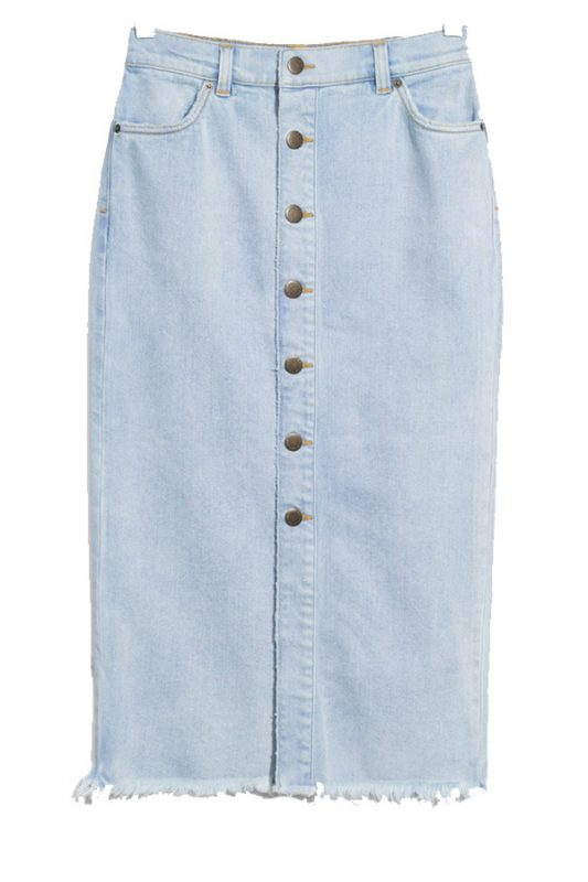 Click to buy & Other Stories denim skirt
