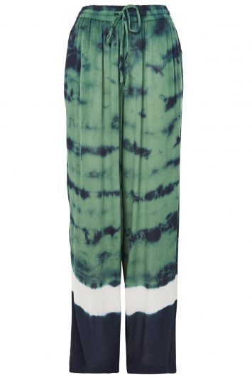 Click to buy Topshop Tie Dye Trousers online