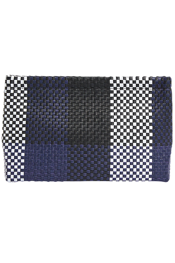 Click to buy Jigsaw Woven Clutch Bag online