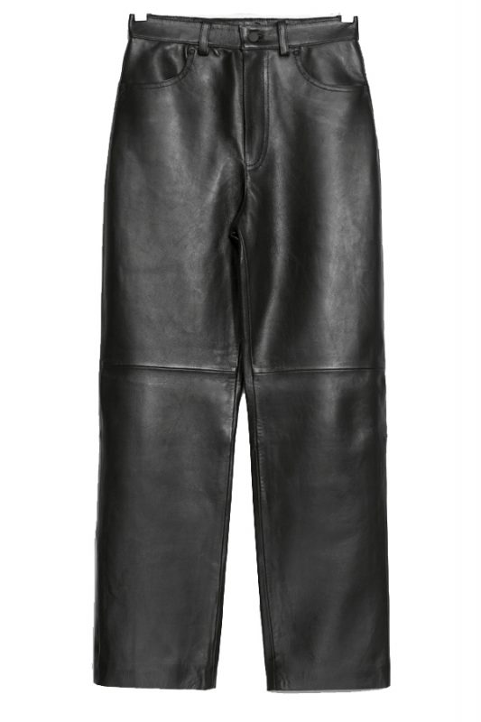 & Other Stories leather trousers