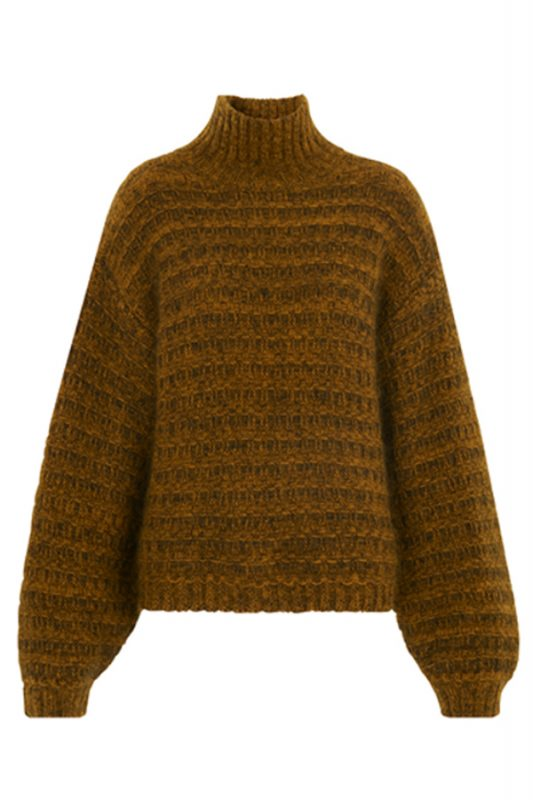 Whistles funnel neck knit