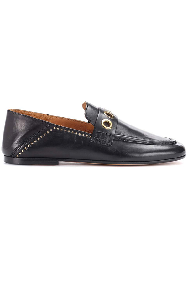 Click to buy Fosten leather loafers online