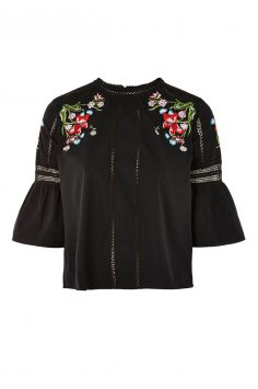 topsohp embroidered top