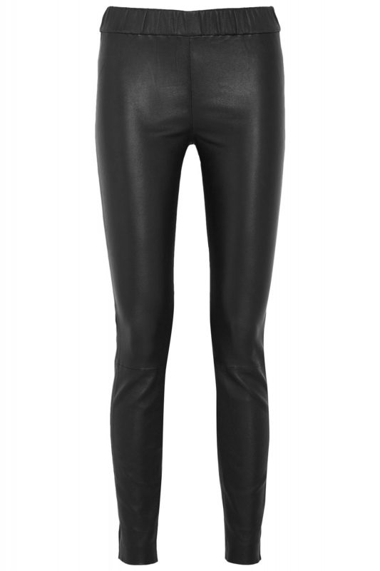 J. Crew leather leggings