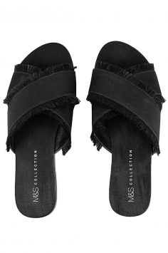 m and s black mule