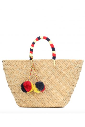 Click to buy Kayu woven straw bag