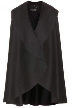 Click to buy Burberry Military wool cape online