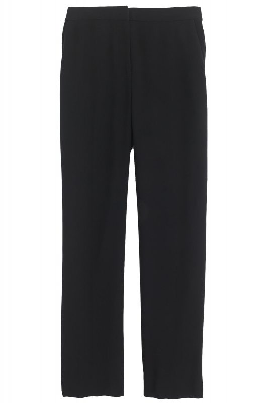 Click to buy J Crew black trousers