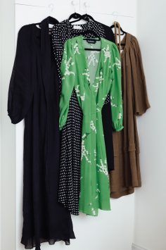 Image of packing dresses