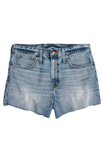 Click to buy Madewell denim shorts