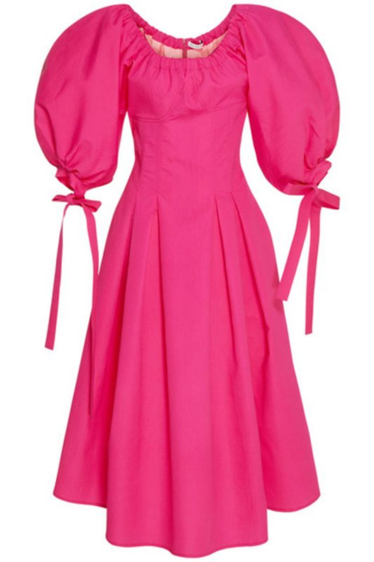 Click to buy Rejina Pyo bright pink Greta dress