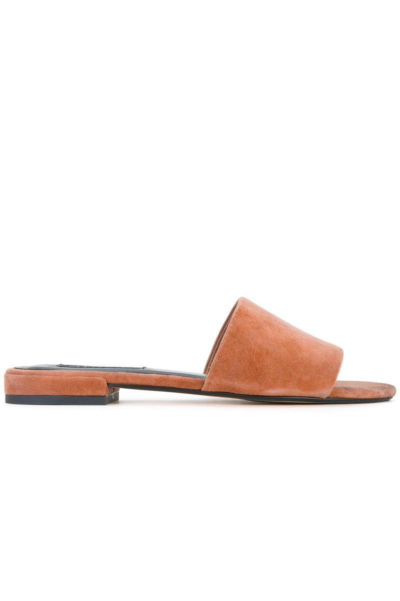 Click to buy Senso suede slides