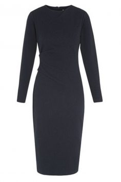 Click to buy Whistles Pinstripe Jersey Dress online
