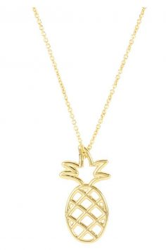 Click to buy Aliita Gold Pineapple Necklace online