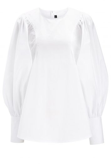 Click to buy Joseph Cotton Prim Blouse online