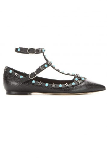 Click to buy Valentino Starstudded flats online