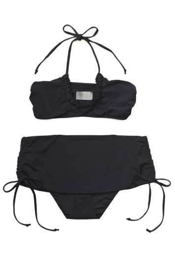 Click to buy Hatch x Marysia black two piece swimsuit