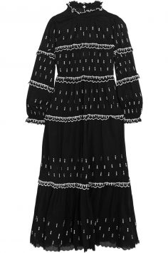 Click to buy Étoile Isabel Marant ruffled maxi dress Online